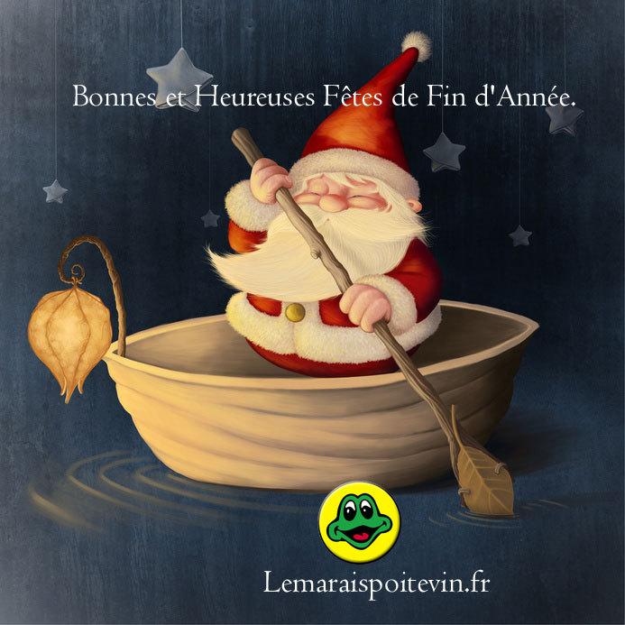 Lemaraispoitevin.fr vous souhaite de bonnes et heureuses fêtes de fin d'année